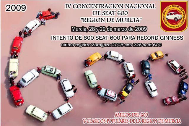 Proximo Record Guinness en Murcia dias 28 y 29 de marzo 2008