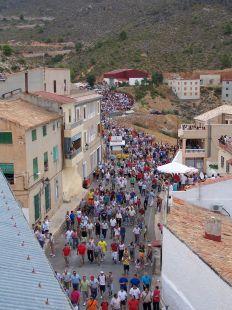 Primer Encierro Fiestas de Lietor 2007