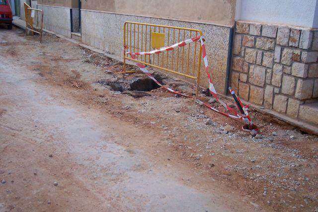 Mal estado de la calle Carrasca (Villarrobledo)