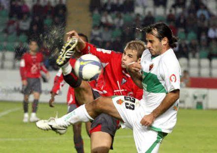 Partido del Albacete contra el Elche