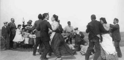 El baile de la matazón de Julián Collado (1900)