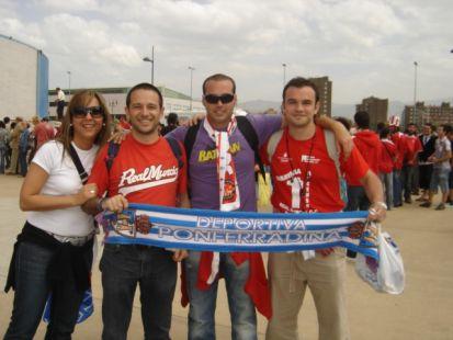 Tres de Molina, con el Murcia en Ponferradina