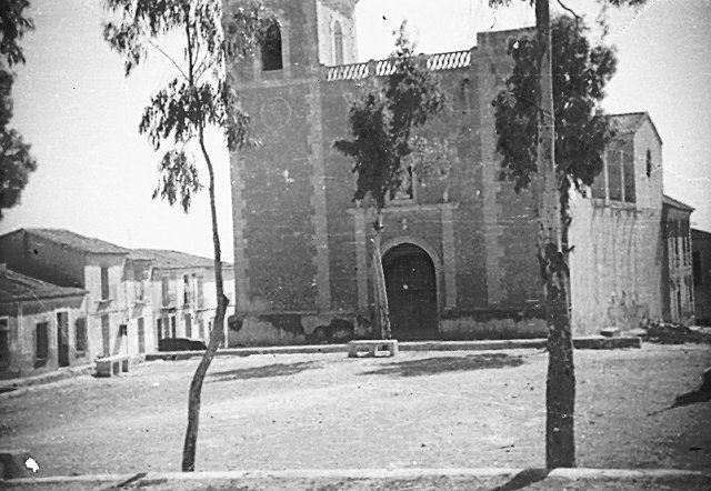 Iglesia y Paseo de San Miguel..1950