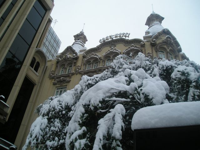Albacete nevado, Gran Hotel