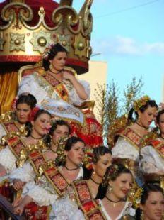 Reina y Damas en el Bando de la Huerta 2008