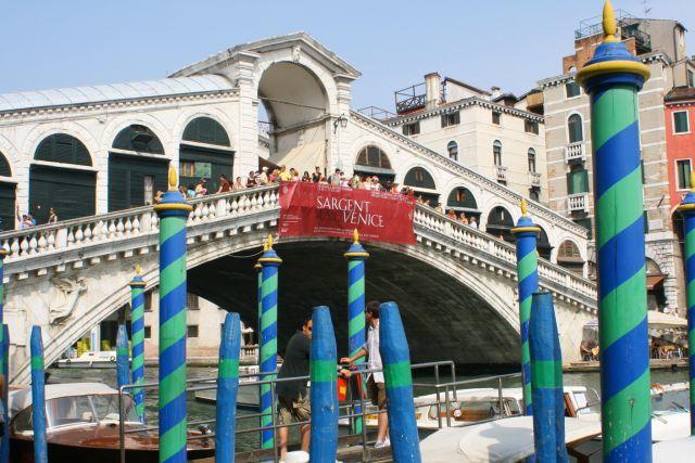 Venecia de colores