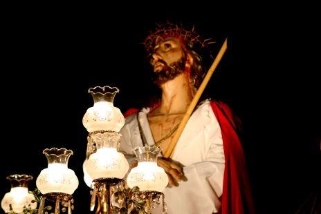 Jesus camino del Calvario