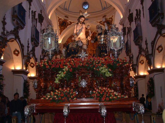 Cristo de la Coronacion Paso Azul Lorca