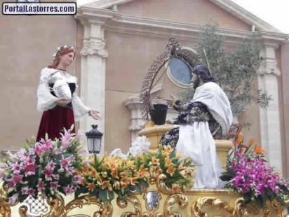 LA SAMARITANA Y EL CRISTO DEL POZO. LAS TORRES DE COTILLAS