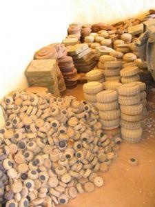 Exposición sobre las minas antipersona en el Sahara