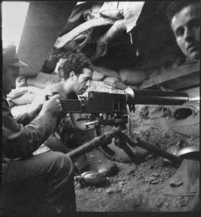 Milicianos en Monte Aragón (1937)