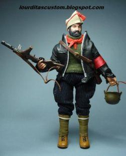 Madelman custom Jefe de Milicias  POUM Aragon