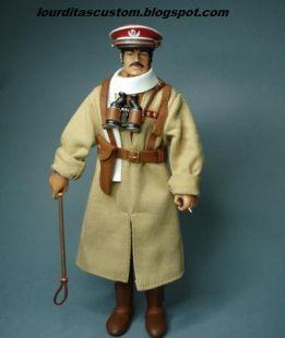 Madelman custom Teniente de Tiradores de Ifni