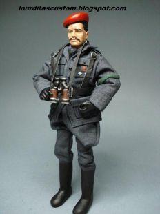 Madelman custom General de las Milicias de Falange Española