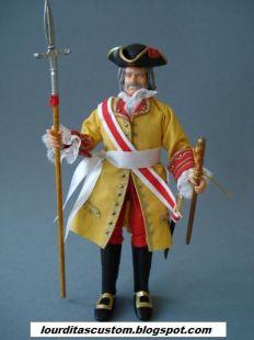 MADELMAN CUSTOM BATALLA DE ALMANSA 1707