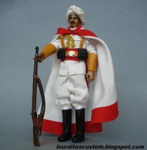 Madelman Custom Soldado Moro de la compañía de honores en traje de Gala