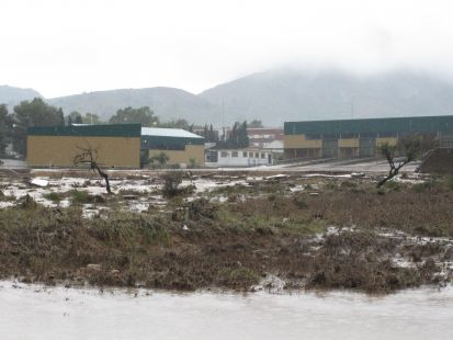 Rotura del muro del Cuartel Militar de Tentegorra