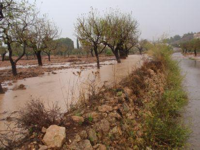 Inundaci�n en Los Garc�as