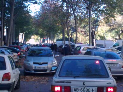 Paseo peatonal o slo para coches?