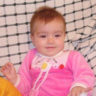Cumples 6 meses, felicidades Alejandra!