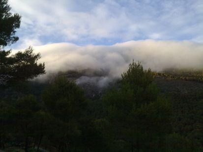 Las nubes al alcance