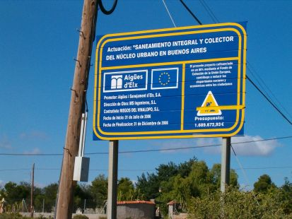 Colector urbanización Buenos aires