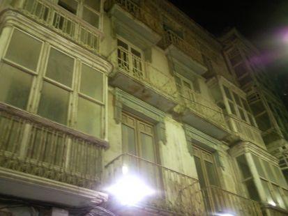 Suciedad en fachadas