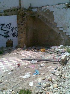 Mucha dejadez en la calle Pedro D�az
