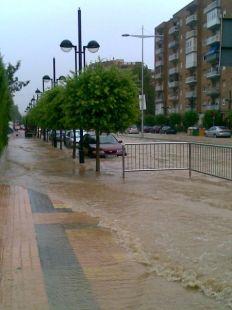 Cartagena inundada