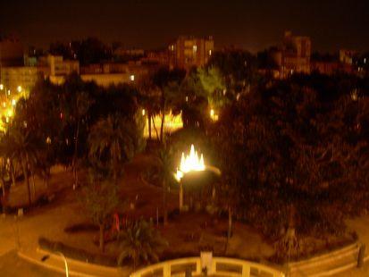 Cuatro meses sin luz (Plaza de Espa�a de Cartagena)