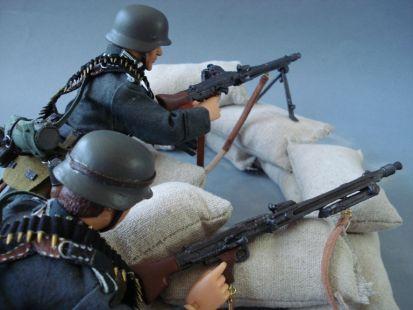 Madelman custom alemanes - Segunda Guerra Mundial