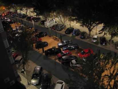 Vergonzoso: Paseo central Francisco de Borja invadido por coches