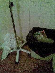 Así es la higiene en los WC del hospital Rafael Méndez