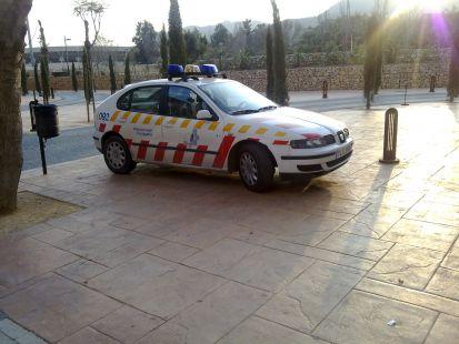 La Polic�a dando ejemplo