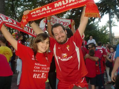 Ascenso REAL MURCIA!!!
