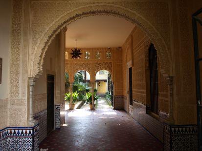 Entrada al Parque de los Mártires (Granada)