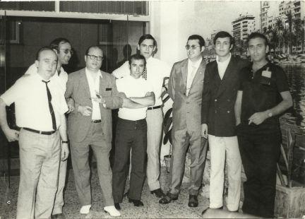 Plantilla del Diario la Verdad años 70