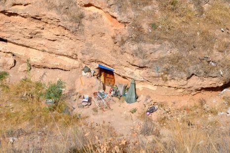Cueva habitada en La Alberca