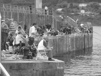 Pescadores asturianos