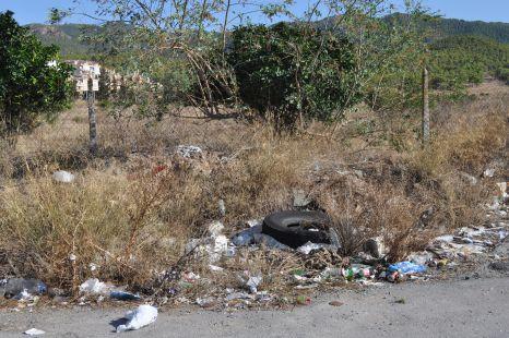 Lamentable estado de La Alberca