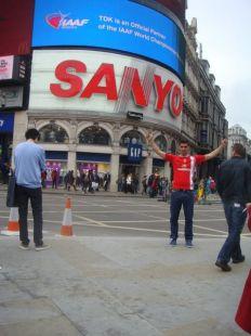 Camiseta en Londres