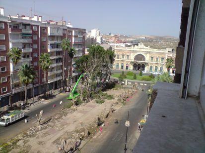 Un paisaje devastador (Avenida de Am�rica)