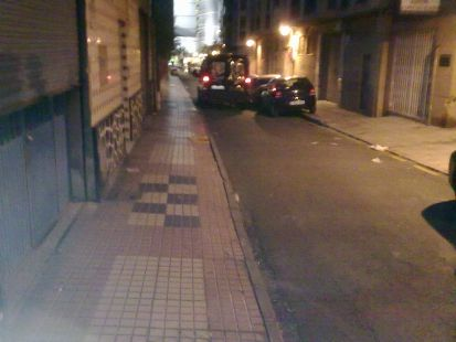 La calle m�s fea de la ciudad