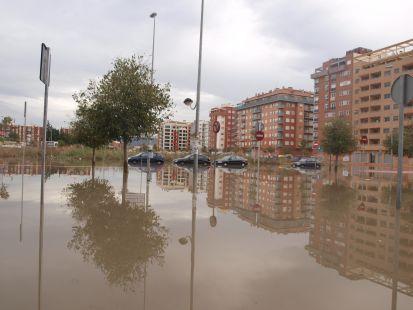 Ronda Sur inundada