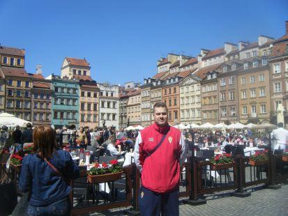 Murcianista en Varsovia