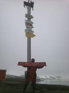 Hasta en la Ant�rtida, a 12.450 kms de Murcia...