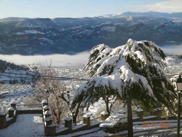Mirador y sierra de lagos Seje y Nerpio / Nieblas del río