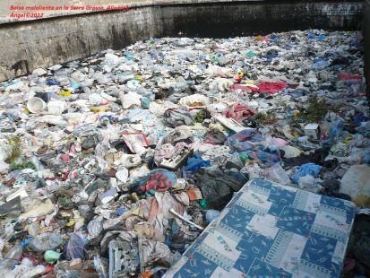 Balsa de residuos