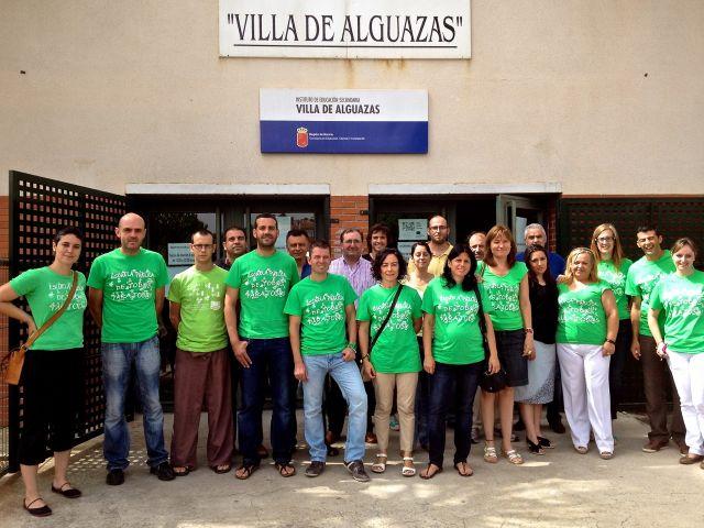 Marea verde en el IES de Alguazas