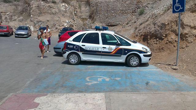 LA VERGÜENZA DE LA POLICíA